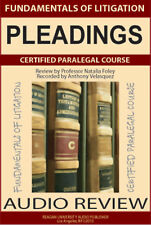 Pleadings (Certified Paralegal Audio Course)