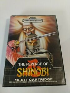 The Revenge of Shinobi (1989) Sega Genesis Game CIB Tested with Manual
