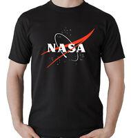 CAMISETA NASA DIVERTIDA RETRO T-SHIRT VINTAGE NASA LOGO HOMBRE