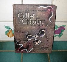 CALL OF CTHULHU ROLEPLAYING BOOK BY MONROE COOK AND JOHN TYNES HB #886440000