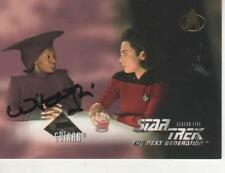 "WHOOPI GOLDBERG SIGNED 1996 SKYBOX ""STAR TREK"" TNG #$514 - GUINAN"