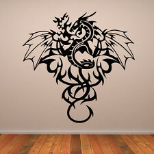 Dragon B fancy funny car van, bumper, windows, Wall art decal stickers
