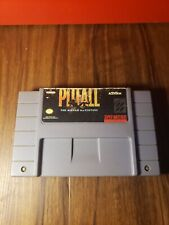 Snes Pitfall The Mayan Adventure! Tested Works! Original