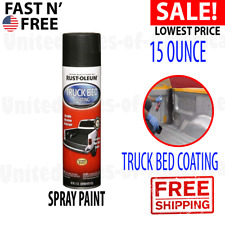 New listing Truck Bed Coating Spray Paint Protect Automotive Trailer Liner Stops Rust 15 Oz