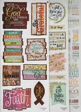 The Paper Studio Stickabilities RELIGIOUS Themed Stickers~Adorable! Quick Ship