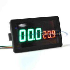 Amperímetro Corriente Medidor de flujo Voltímetro Digital LED DC 100V 100A Shunt