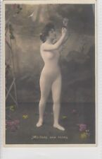 EROTIC  / RISQUE / NUDE/  POSTCARD PARIS, FRANCE FRENCH  MAILLOTS AUX ROSES