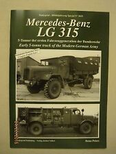 Mercedes-Benz LG 315 Early 5 ton Truck of the Modern German Army Tankograd #5019