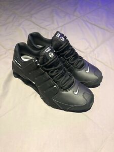 Size 10.5 - Nike Shox NZ EU Black