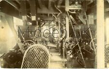 RB175 Old RP POSTCARD Industrial Mill Machinery, Coffee - Posted Darlington 1913