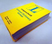 Universal German Dictionary German-English by Langenscheidt Publishers Staff