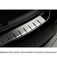 W639 Ladekantenschutz mit Abkantung Gebürstet 304 V2A Mercedes Vito Viano W639