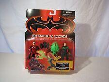 NEW DC Batman & Robin Night Hunter Robin VS. Evil Entrapment Poison Ivy Figures