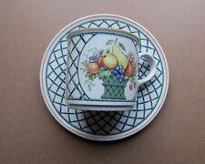 Frühstückstasse Ø 7cm + Untertasse Ø 15cm 2-teilig Villeroy & Boch *BASKET*