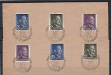 GERMANY 1943 STAMPS WITH SPECIAL CANCELS ON PIECE   REF R4059