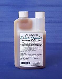 Aqua-Liquids Wurm Kräuter unterstützend & prophylaktisch b. Wurminfektion