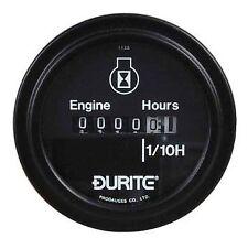 Durite Engine Hour Countert Hour Meter 52mm 10-80 volt x1 0-523-08
