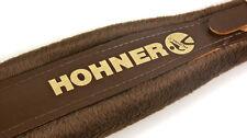 New Hohner Straps - ACC14 Brown Accordion Leather Straps Large Anacleto Corona