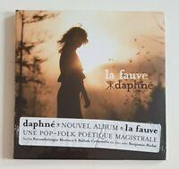 "CD ALBUM NEUF ♦ DAPHNE : LA FAUVE // duo BENJAMIN BIOLAY ""BALLADE CRIMINELLE"""