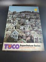 Buena Vista District San Fran Tuco super deluxe Jigsaw Puzzle 725 Pc COMPLETE