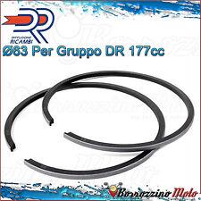 FASCE PER PISTONE COMPLETO D.63 GRUPPO 177cc DR PER VESPA PX 125 150 ARCOBALENO