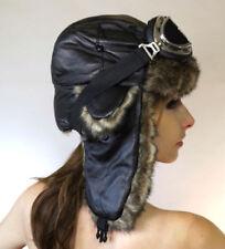 Gorra de mujer de color principal negro de poliéster