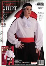 Forum Novelties Ruffled Colonial Costume Shirt White One Size