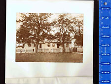 The Moore House, Surrender at Yorktown, Virginia -  1893 Photogravure