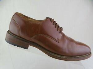 JOSEPH ABBOUD Brown Sz 8.5 D Men Plain-Toe Derby Dress Shoes