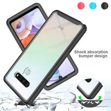 For LG Stylo 6 /K51 /Phoenix 5 Case Shockproof Bumper Armor Clear Phone Cover