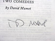 DAVID MAMET SIGNED - Sexual Perversity in Chicago & Duck Variations, 1977 SCARCE