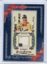 2011 ALLEN & GINTER #AGR-PST PICABO STREET JERSEY RELIC , SKIING
