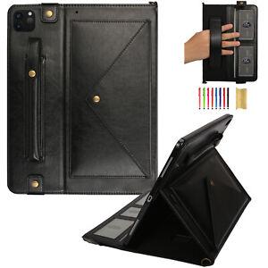 Envelope Shoulder Bag Stand Leather Smart Case Cover for iPad Pro 11/12.9 2020