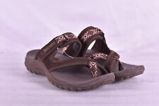 Women's Skechers Reggae - Trailway Sandals, Chocolate Brown, 5M