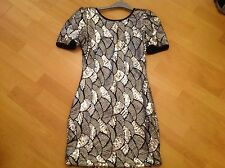 Rare sequinned dress size 10