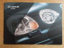 GS Paper 1999 Car Sales Brochures
