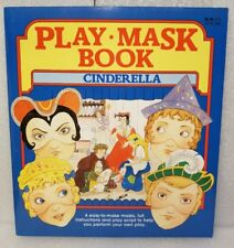Rare Play Mask Books Cinderella. Easy to Make Masks