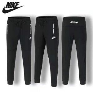 Nike Mens Drawstring Tracksuit Bottoms Joggers Training Track Pants Trousers