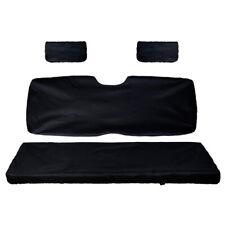 UTV Bench Seat Covers w/ Back Seat Cover for Polaris Ranger 500 700 800 2002-08