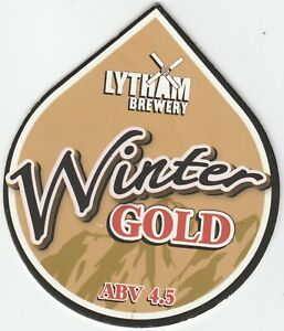 LYTHAM BREWERY - WINTER GOLD - (PUMP CLIP FRONT)