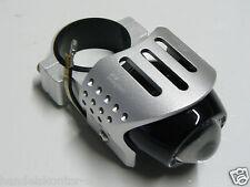 1 Magazi Gabel Nebelscheinwerfer Zusatz-Scheinwerfer Alu Silber für 52mm Gabel