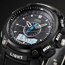 OHSEN Mens Waterproof Digital Sport Rubber Date Day Quartz Wrist Watch Handsome