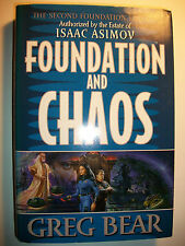 Foundation and Chaos Vol. 2 by Greg Bear (1998, Hardcover)