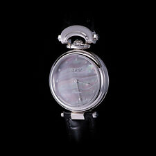 """Bovet 18K White Gold Fleurier """"Amadeo"""" Automatic w/ Tahitian MOP Dial. Rare. NEW"""