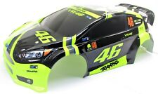 Fiesta ST Rally BODY shell (Neon Green VR46 cover 1/10 Traxxas Ford 74054-6