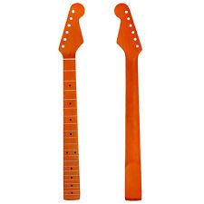 Ahorn E-Gitarre Hals 22 Fret Griffbrett für Fender Strat Ersatz