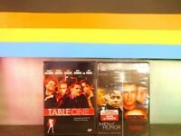 Lot of Two Table One /Men of Honor/Broken Arrow  DVD New Sealed