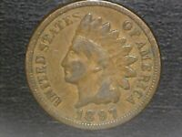 1-1897 Indian Head Cent (SEE PHOTOS FOR CONDITION) THANK YOU