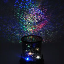 Romantic LED Night Sky Projector Lamp Kids Xmas Gift Star Light Cosmos Master