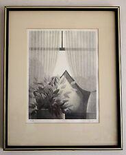 """ROBERT KIPNISS """" Morning Sun """" 1978 Lithograph 199/250 Landscape 21"""" X 17"""" 05307"""